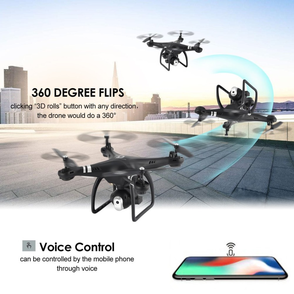 cheapest Willkey Upgraded S6 Long Flight Time RC Folding Drone Wide Angle 4K 1080p HD Dual Camera Remote Control FPV Quadcopter Drones