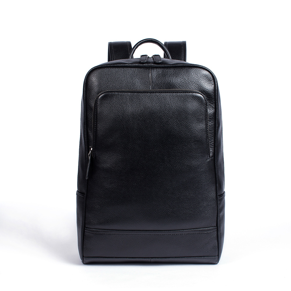 Casual men Genuine Leather Backpacks male large-capacity shoulder travel bag Daypack student laptop Backpack School bags mochila male bag vintage cow leather school bags for teenagers travel laptop bag casual shoulder bags men backpacksreal leather backpack