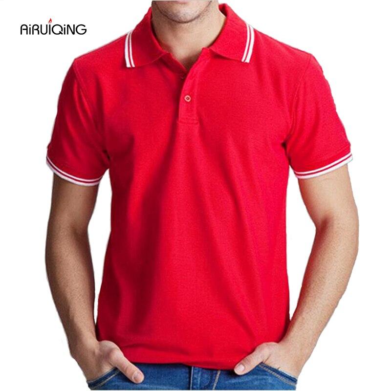 Markenkleidung Polo-Shirt Solide Casual Polo Homme Für Männer - Herrenbekleidung - Foto 1
