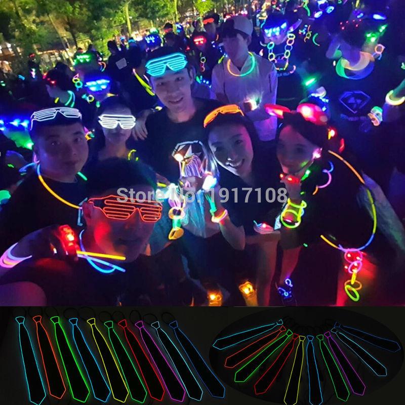 2017 Nuevo Estilo Luz 10 Colores Intermitente Iluminando Luz LED - Para fiestas y celebraciones - foto 6