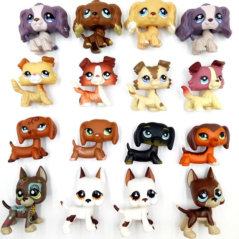 pet shop lps toys литл пет шоп игрушки лпс игрушек стоячки редкие кошки собаки колли такса кокер-спаниель догов старая колекция игрушки для детей