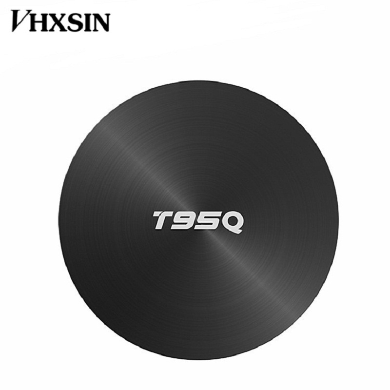 VHXSIN 10 PCS/LOT T95Q 4GB 64GB Android 8.1 LPDDR4 Amlogic S905X2 TV BOX Quad Core 2.4G 5GHz-in Décodeurs TV from Electronique    3