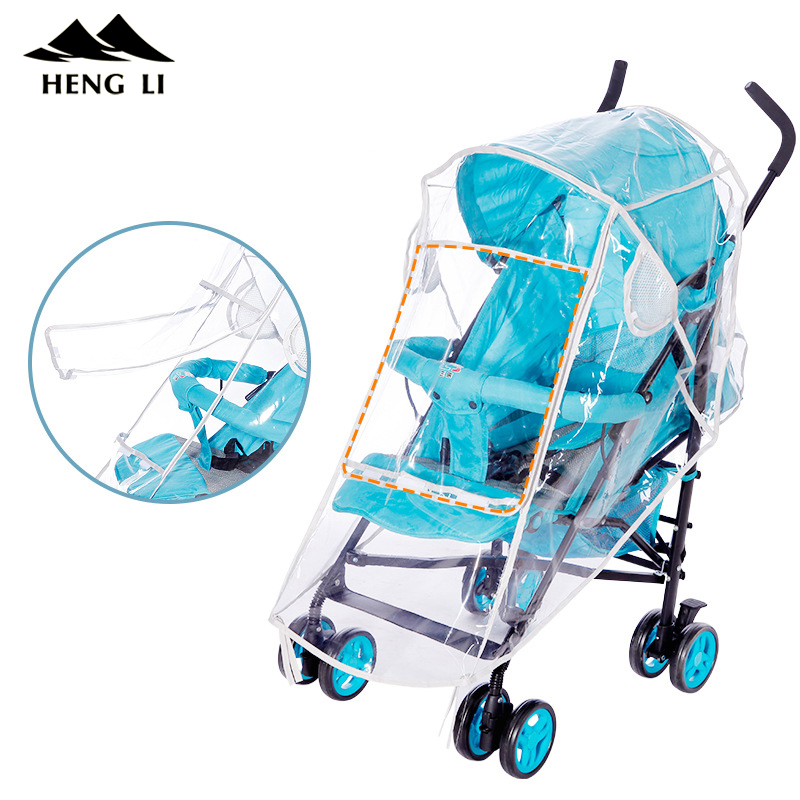 Strollers Accessories Waterproof Raincover For Stroller Prams Cart Dust Rain Cover Raincoat For Baby Stroller Pushchairs Accessories Baby Carriages