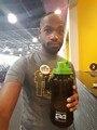 Original Herbalife 24 Nutrition Mega Half Gallon 64oz  Shake Sports Water Bottle Tritan Plastic  Black with Green Lid 3pcs/lot