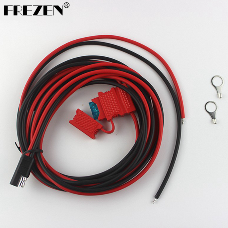 Power Cable For Motorola Walkie Talkie Radios GM300/338/3188 CM140 CDM750 PRO3100 Hf Transceiver Ham Radio J0077A Fshow