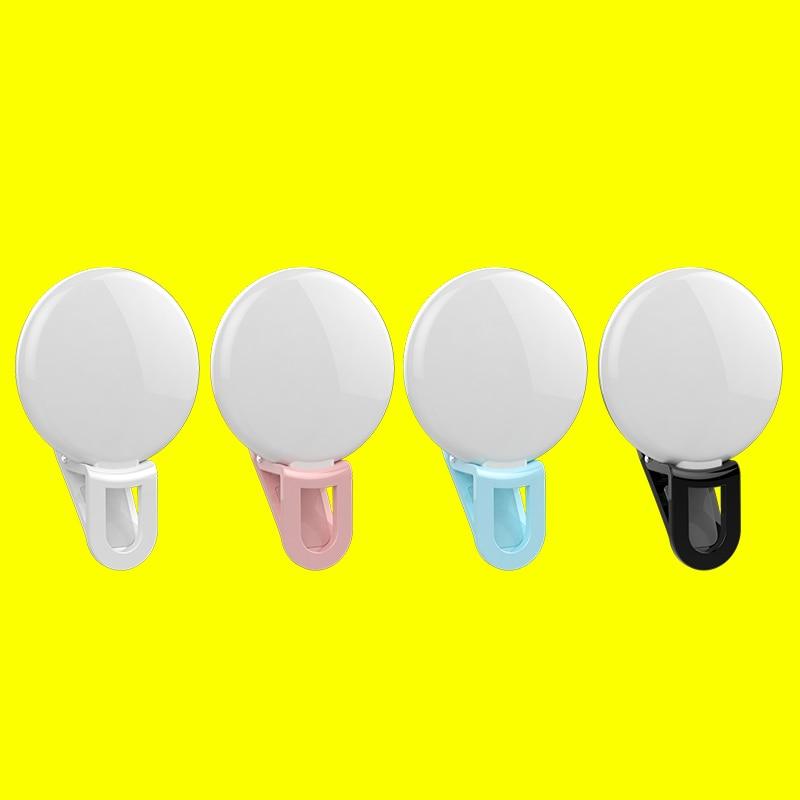 Univerzalna LED lučka Selfie RK17 LED lučka za polnjenje 9 kosov - Kamera in foto - Fotografija 6