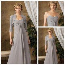 Mother Of The Bride Dresses  Chiffon With Jacket vestido de  women evening pant suits robe ceremonie femme Dress