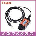 Obd OBDII OBD2 USB Scan Tool Auto Car ferramenta de diagnóstico de falhas Scanner leitor de código de cabo para Ford Mondeo fusão foco F super