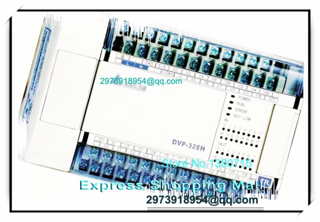 New Original DVP32EH00M3 Delta PLC EH3 series 100-240VAC 16DI 16DO Differential output dvp32es00t2 delta plc 100 240vac 16di 16do transistor output new original