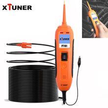 XTUNER PT101 devre test aleti 12V/24V araba pil test cihazı DC/AC güç probu elektrik sistemi teşhis aracı OBD2 tarayıcı
