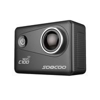 4K Wifi Action Sports Camera SOOCOO C100 Built in Gyro with GPS Extension(GPS Model not include) ultra HD 20MP screen HDMI