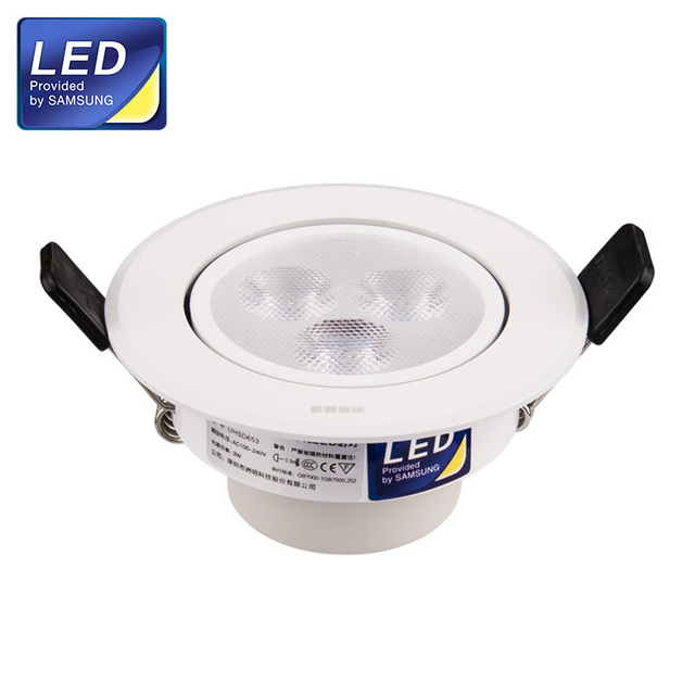 Us2 75mm Lamp Samsung Hole 70 Ac220 240v From Size 330lm White Uhsd653 Light Lightsamp; Cover In Led Chips Spotlights Aluminium 63w Spot CdtsQrh
