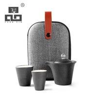 TANGPIN keramik teekanne mit 2 teacups porzellan gaiwan tragbare reise tee-set
