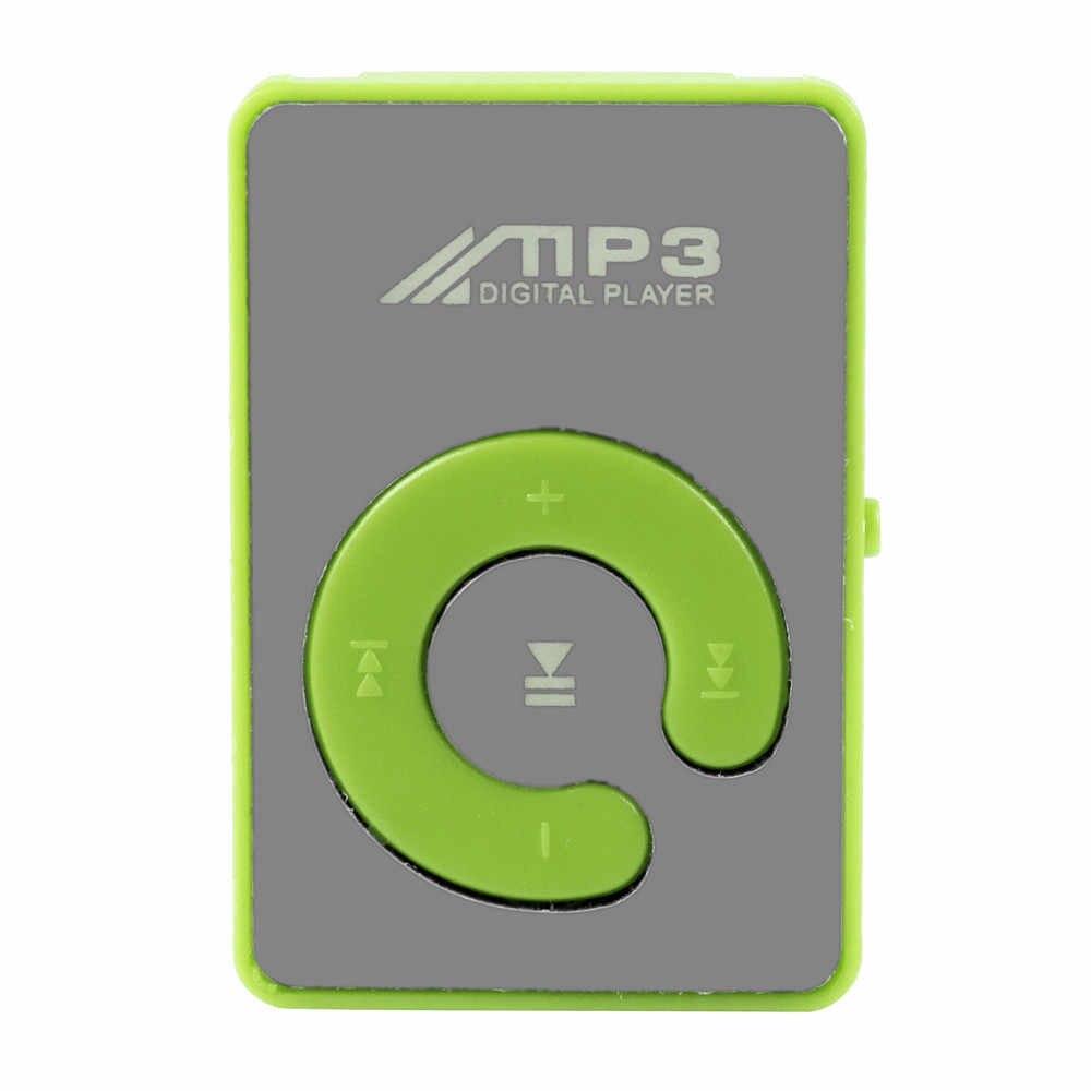 2019 新発売のファッションポータブル USB ミニ MP3 プレーヤーサポート 32 ギガバイトのマイクロ SD TF カードスリックスタイリッシュなデザインスポーツコンパクト