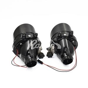 Image 2 - Ronan 2pcs adjust Fog Lights Bi xenon Projector Lens For Camry/Corolla/RAV4/Yaris/Auris/Highlander H11 D2H HID Bulb Accessories