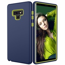 Hybrid Shockproof Armor Case For Samsung Galaxy Note 9 Cover 360 Full Body Protection Defender Frosted Matte Anti Fingerprint