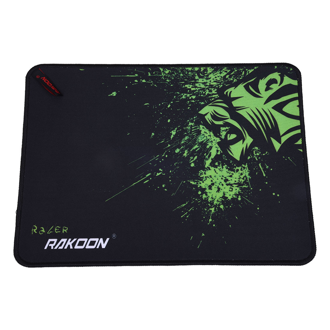 RAKOON Locking Edge Large Mouse Mat For CS Go World Of Tanks Starcraft Mousepad green(Speed 24*32CM)