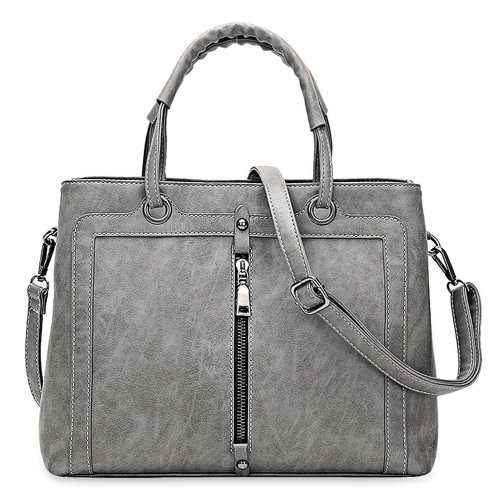 Fashion Brand Women Leather Handbag Zipper Tote Female OL Wedding Party Shoulder Bags Ladies Hand Bag