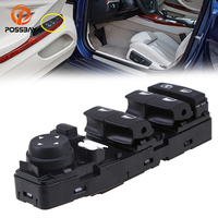POSSBAY Window Master Switch Control for BMW 6 Series F06 Gran Coupe 2011 2017 Power Window Switch Console