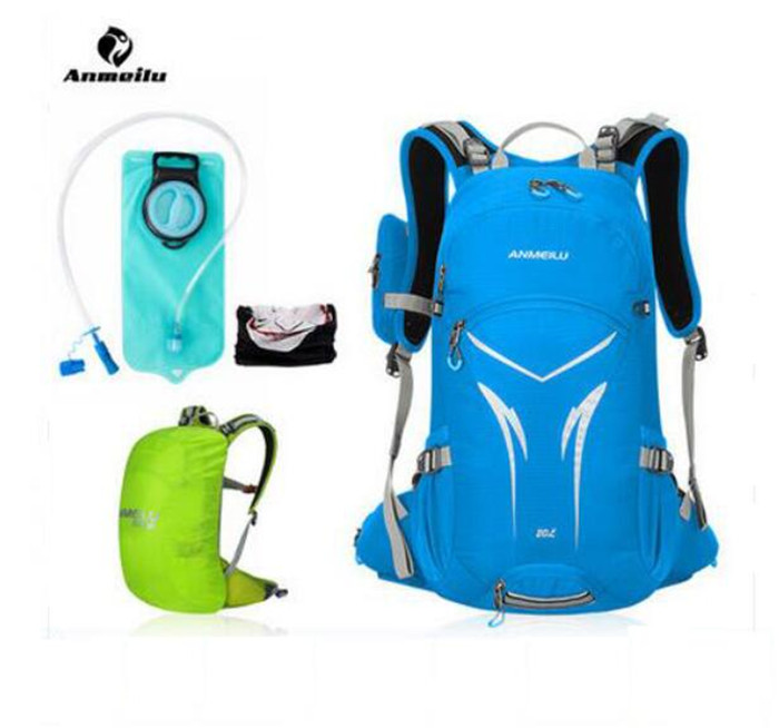 ANMEILU 20L Rucksack Waterproof Ultralight Hiking Camping Climbing Cycling Travel Backpack Outdoor Bag Hydration Pack Water Bag
