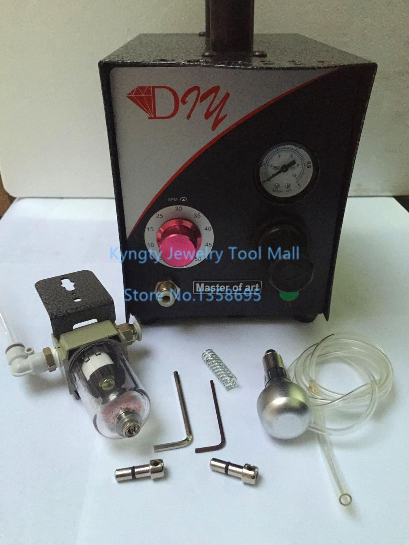 Livraison gratuite 220 V bijoux gravure Machine Graver outils Maxset graveur bijoux outils pneumatique Graver