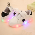 Led luminous Shoes For Boys girls Fashion Light Up Casual kids Outdoor new simulation sole Glowing children sneaker kids light u