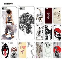 Babaite Oyama Kyokushin Karate Transparent Cell Phone Case for Apple iPhone 8 7 6 6S Plus X XS MAX 5 5S SE XR Mobile Cover