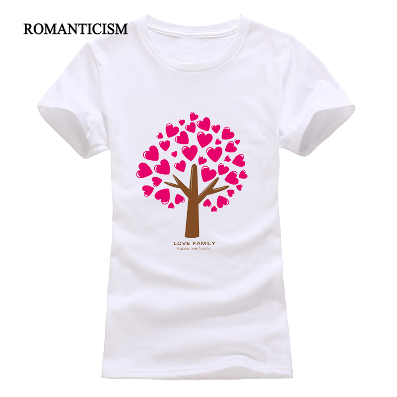 Romanticism new 2017 fashion summer tree printing t shirt for Kinkos t shirt printing