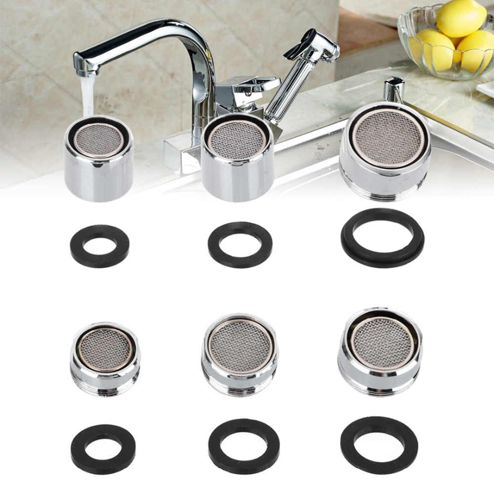 Bathroom Water Purifier Filter Nozzle Water Filter Adapter Water Saving Tap Aerator Diffuser Faucet Filter Nozzle With Washer