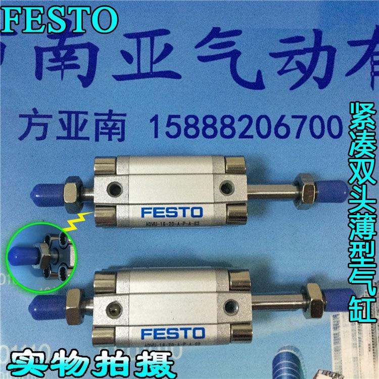 ADVU-16-20-A-P-A-S2 156051 ADVU-32-20-A-P-A-S20 FESTO Compatto cilindri pneumatici tool pneumatic compartADVU-16-20-A-P-A-S2 156051 ADVU-32-20-A-P-A-S20 FESTO Compatto cilindri pneumatici tool pneumatic compart