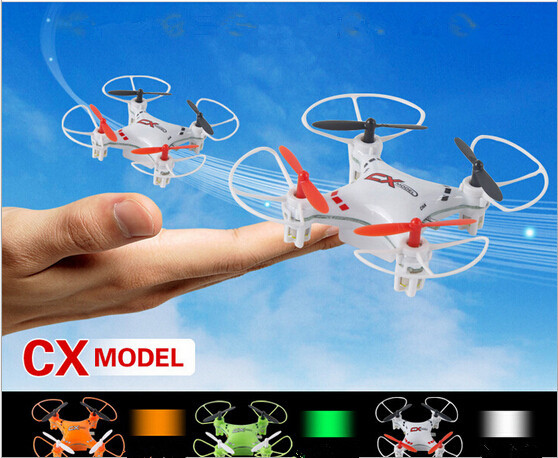 2015 New best gift Fly Drones CX023 5CH RC Helicopter 2.4GHz Radio Control RC Mini UFO Quadcopter with LED Light/6-Axis Gyro RTF