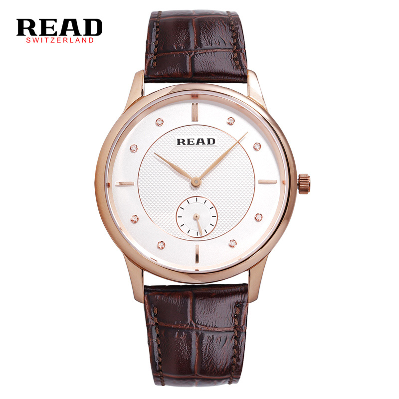 Luxury watchwrist READ 2019 Fashion black mens watch round Quartz relogio watches waterproof for 30 meter Wristwatches 6025Luxury watchwrist READ 2019 Fashion black mens watch round Quartz relogio watches waterproof for 30 meter Wristwatches 6025