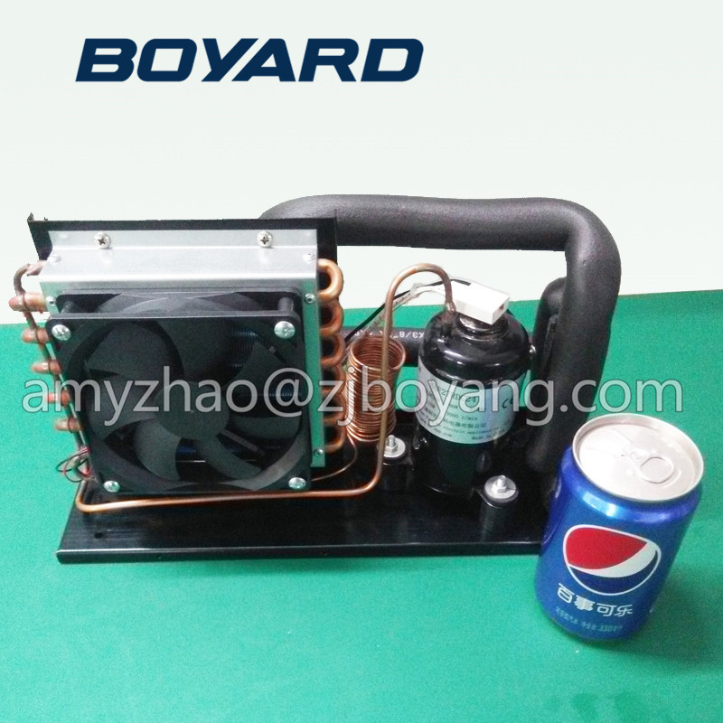 2017 New Product R134a 24v Dc Mini Refrigeration Unit For