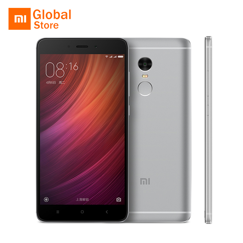 original xiaomi redmi note 4 pro prime 3gb ram 64gb rom mobile phone mtk helio x20 deca core 5 5. Black Bedroom Furniture Sets. Home Design Ideas