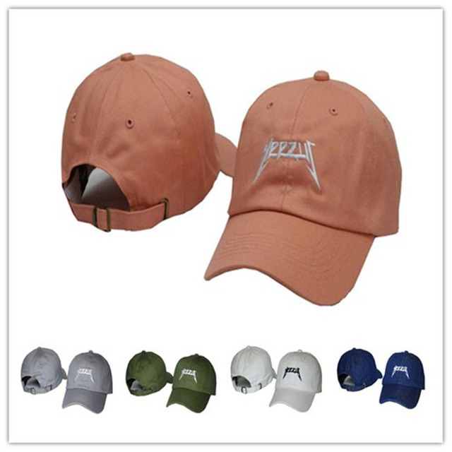 Yeezus Yeezy Boost Pato 100% Algodón Gorra de Béisbol Strapback Snapback Cap gorras Chapeau sombrero 6 del panel