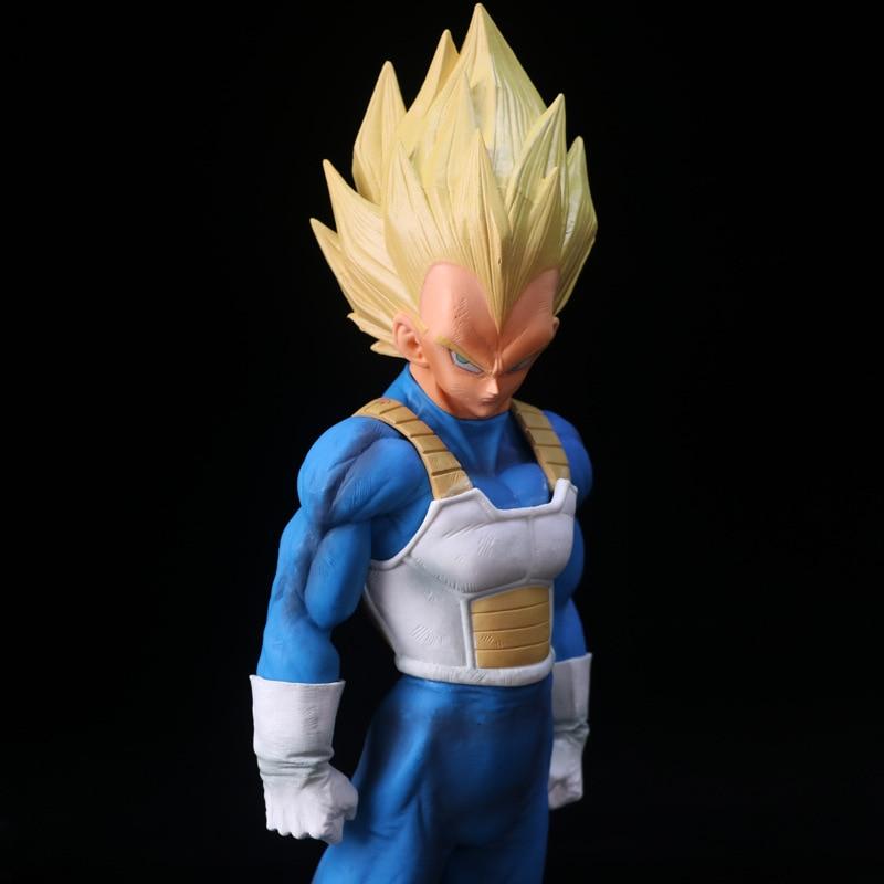 Toys & Hobbies Flight Tracker 26cm Big Dragon Ball Z Goku Super Saiyan War Damage Ver Chocolate Pvc Action Figure Dbz Brush Saiyan Blood 3 Styles