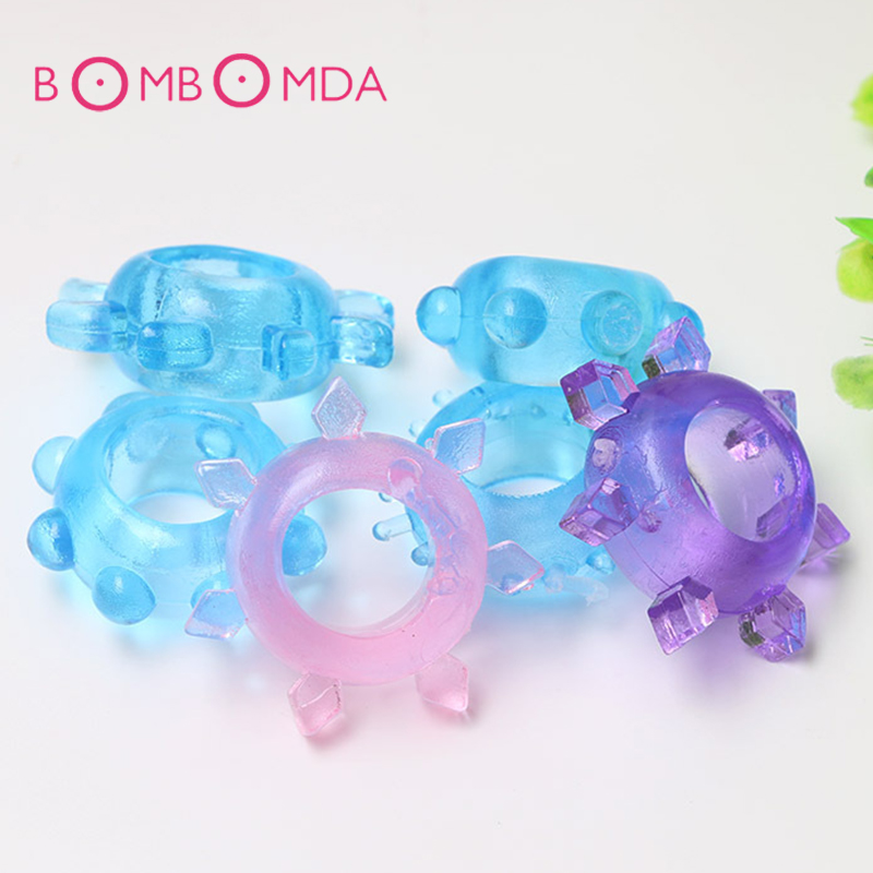 Soft Flexible Cock Ring Silicone Penis Rings Ejaculation Delay Vagina Stimulator Cockring Adult Products Sex Toys For Men Male