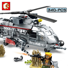 Sembo Block 340pcs Military Special Forces War Compatible Legoe Military font b Toy b font Army