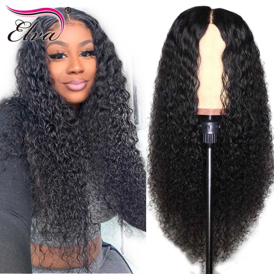Deep Curly Lace Front Human Hair Wigs For Black Women 13x6 Remy Hair Brazilian Lace Front