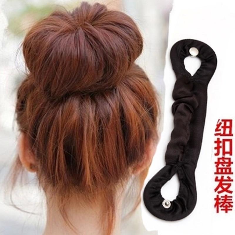 Hair Styling Gum: Hair Styling Twist Styling Bun Hair Gum Hairdisk Meatball