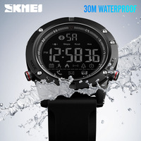SKMEI 1425 Clock men's wrist watch sport watch Man Men's Bluetooth Wrist Watches Smart Digital Sports Watch Calorie Calculation