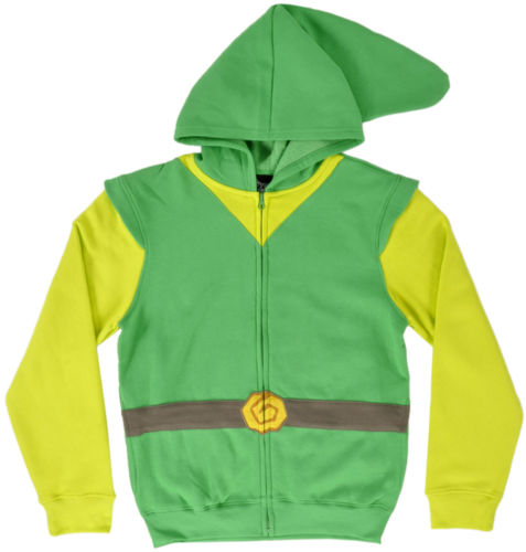 The Legend of Zelda Skyward Sword Link Logo/Symbol Cosplay Suit Hoodie Sweater Shirt