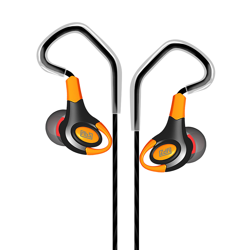 RUKZ T6 Stereo Professional Sport Earphones with Microphone for Mobile Phone BASS Running Earbuds Earpiece In Ear Running Earbud