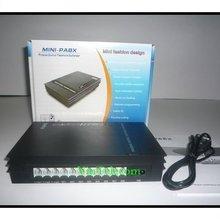 Китайская PBX фабрика VinTeecom SV108 с 1 фиксированной наземной линией+ 8 внутренних Ext для малого офиса/soho/семейного телефонного решения