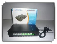 China PBX factory VinTeecom SV108 with 1fixed land line+8 internal Ext for small office/soho/family phone system solution