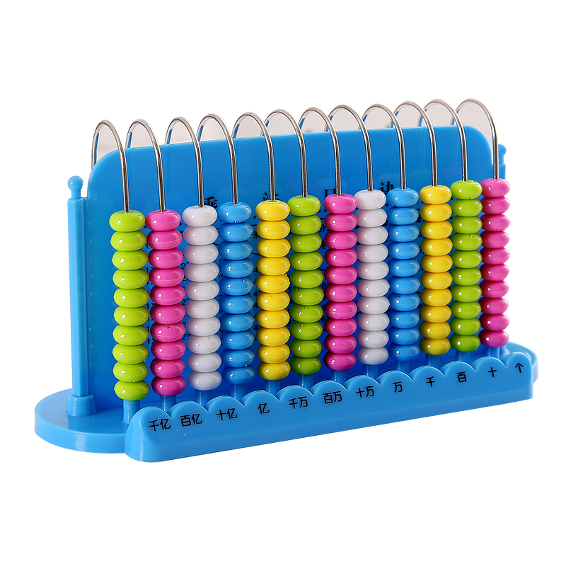 Math Toys For Kids Child Abacus Counting Beads Maths Learning Educational Toy Math Early Learning