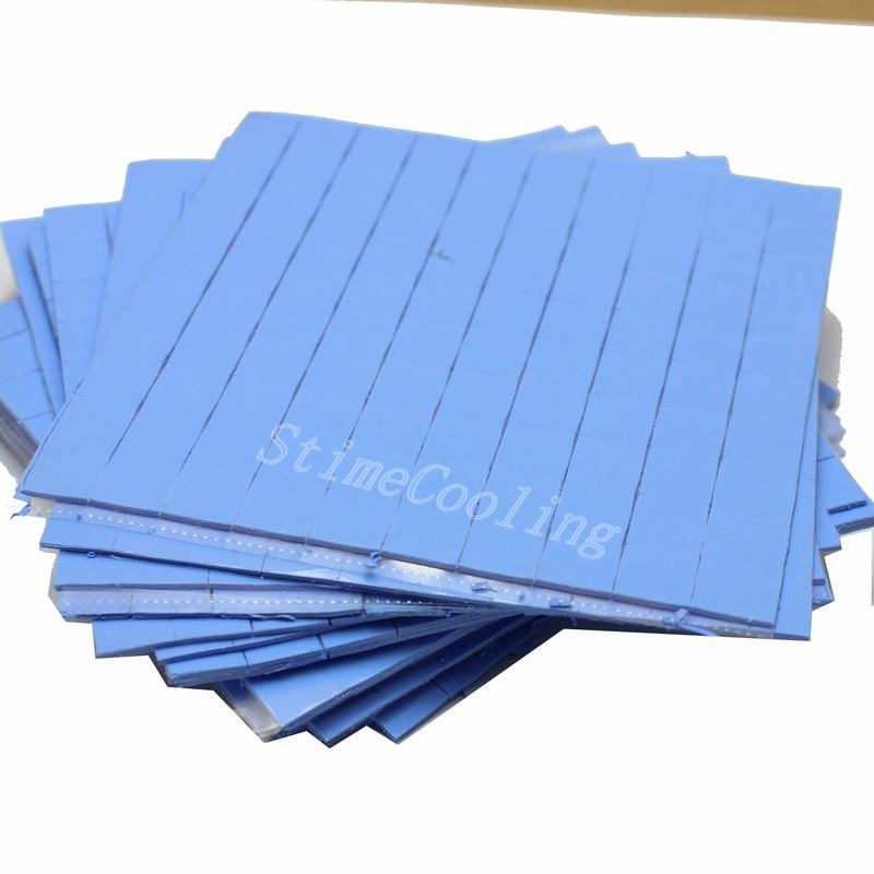 10000pcs/lot 10mm x 10mm x 1mm Silicone CPU Heatsink Compounds Thermal Pads-in Fans & Cooling from Computer & Office    1