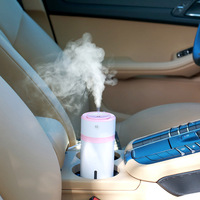NEW Car Air Purifier Ultrasonic Humidifier USB Night Light Atomization Machine Mist Maker Mini Humidifier Home Use Air Cleaner