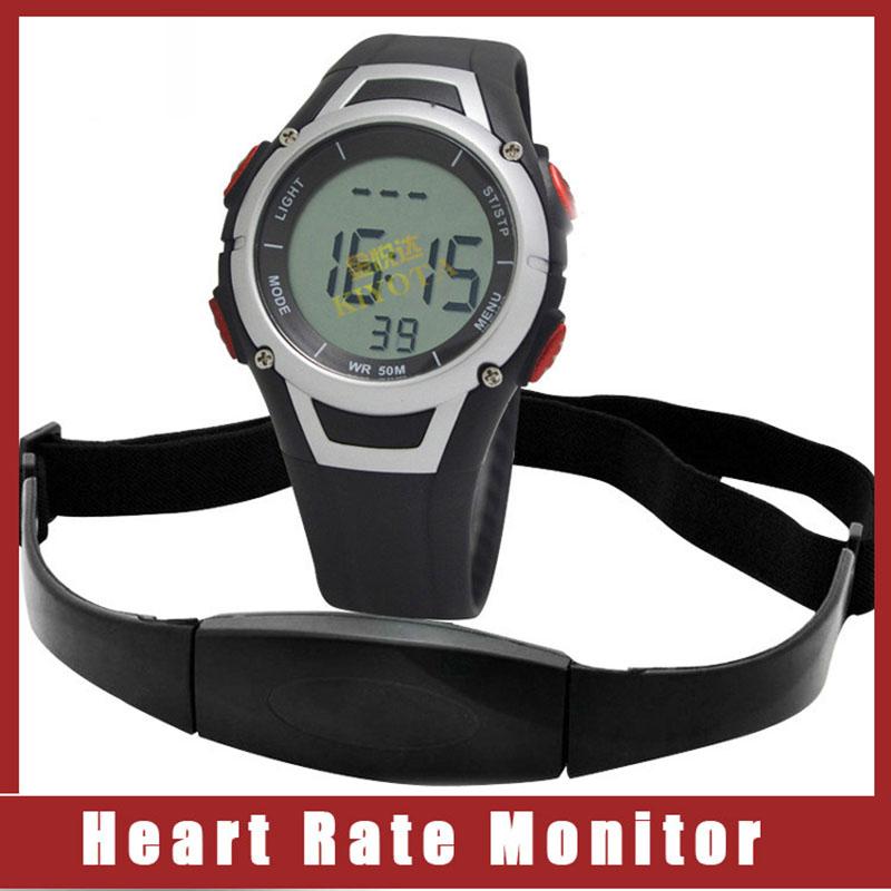 Prix pour Fitness Pulse Sans Fil polaire moniteur de fréquence cardiaque montre Numérique cardio capteur de Course grh Poitrine Sangle smart accessoires pulsomètre
