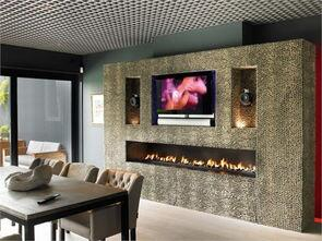 Free Shipping To Door Wifi Real Fire Intelligent Smart 60 Bio Ethonal Fireplace With Remote